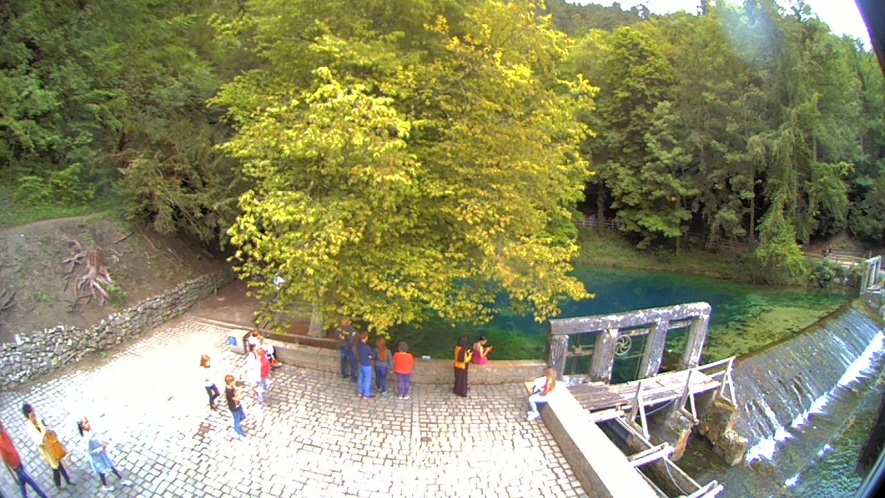 Webcam am Blautopf Blaubeuren